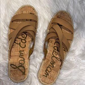 Sam Edelman sandals with espadrille bottom W9